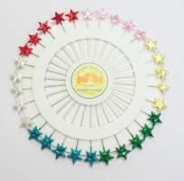 Pin Wheel - Star Pearl Pins