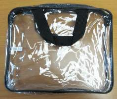 Large Clear Vinyl Bag