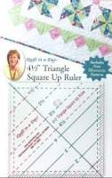 "4.5"" Triangle/Square Up Ruler"