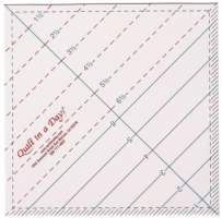 "6.5"" Triangle/Square Up Ruler"