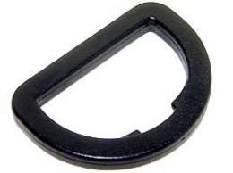 Plastic D-Rings - Flat