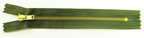 Pant Zippers - Brass