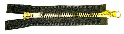 Heavy Brass Parka Zipper (Two Way)