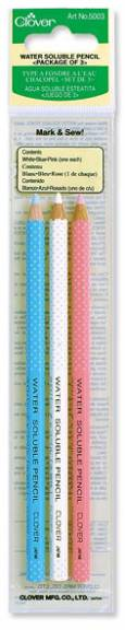 Clover Water Soluble Pencils