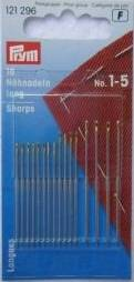 Sharps Hand Sewing Needles #1-5