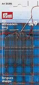 Sharps Hand Sewing Needles #5-9