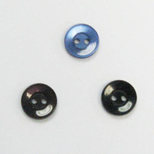 2 Hole Nylon Shirt Buttons