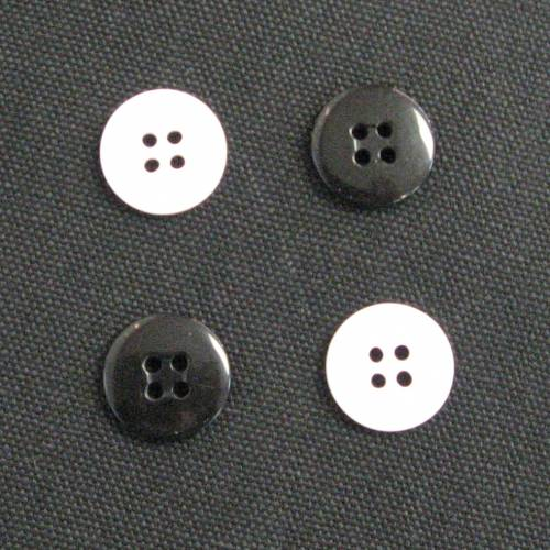 Suspender/Pant Buttons - 4 Hole
