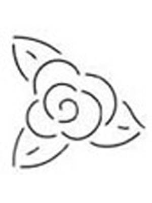 Quilting Stencil - Flower