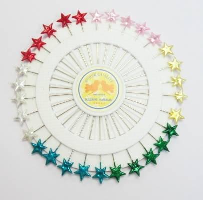 Pin Wheel - Star Pearl Pins