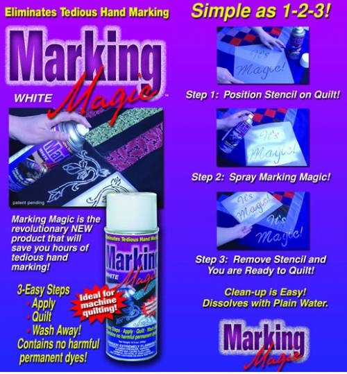 Marking Magic - Spray Chalk