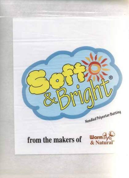 """Soft & Bright"" Polyester Batting"