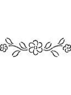 Quilting Stencil - Flower Border