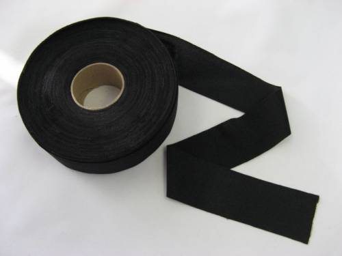 Lycra Binding Tape - BLACK