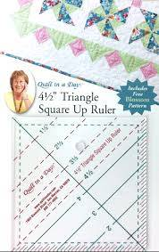 """4.5"""" Triangle/Square Up Ruler"""