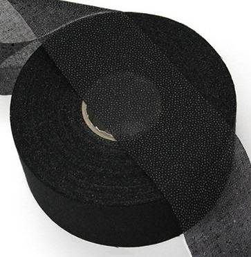 "2"" Fusible Black Interfacing, Heavy Weight"