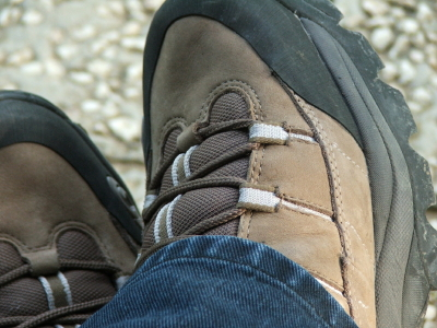 These shoes contain Cordura fabric